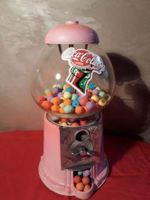 distributeur a chewing gum  xl  vintage fin 70s, degrader de