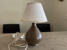Lampe à poser céramique années 70