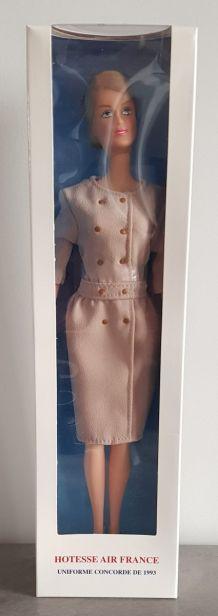 Rare poupée hôtesse Air France Concorde