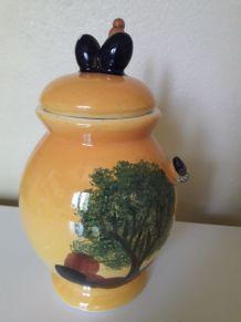 Pot à olive Vallauris