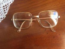 lunette vintage année 70/80 or carré Morel 50-20 modèle Rivo