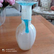 Vase en verre italien