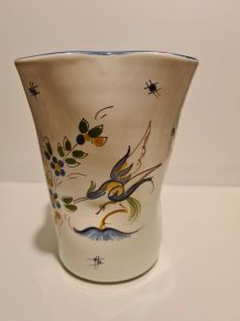 Vase décor Moustier