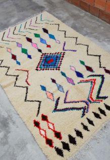 241x153cm Tapis Berbere Marocain Azilal
