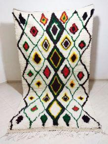 253x142cm Tapis Berbere Marocain Azilal