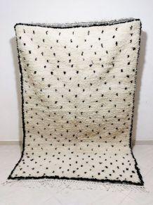 224x155cm Tapis berbere marocain azilal