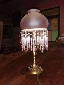 Lustre et lampe de chevet vintage