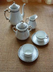 service à café Limoges ancien