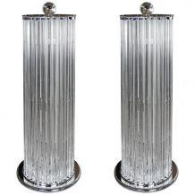 Paire de lampadaires - Dans le gout de de Venini