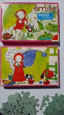 Puzzle EMILIE Domitille de Pressensé vintage DUJARDIN