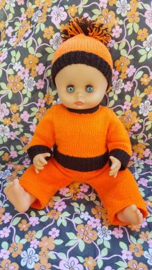 Ancienne poupée CLODREY vintage 40 cm
