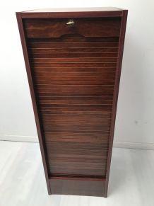 Meuble classeur à rideaux année 60-70