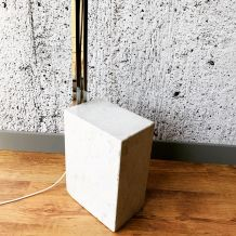 Lampadaire ARC pied marbre