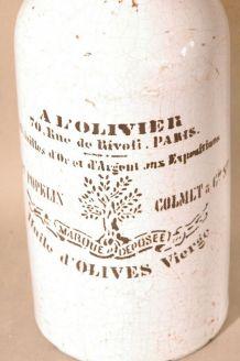 bouteille A L OLIVIER PARIS RIVOLI POPELIN COLMET