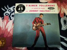 SP Single 2 titres johnny hallyday vogue v.45.722.