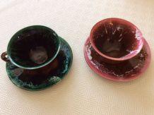 2 grandes tasses Vallauris