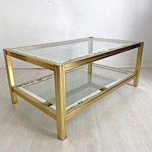 Table basse 70's PIerre Vandel