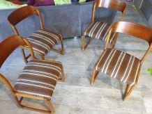4 chaise traineau Baumann