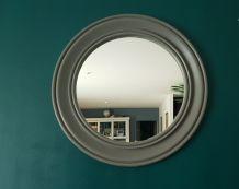 Grand miroir bois vintage