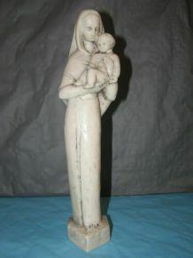 Ancienne statuette (sculpteur M.Vourdon) , H 27cm