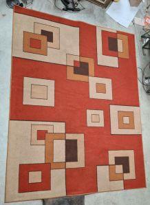 Tapis modernsite géométrique , grande taille 260x340 , coule