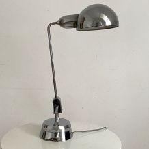 Lampe a balancier chromée jumo modele 600 vintage 50's