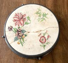 Dessous de plat vintage ceramique et métal