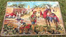 Ancienne tapisserie murale orientale (Turquie)