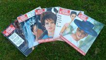 5 anciennes revues Jours de France 1960