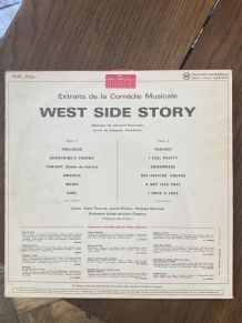 Vinyle vintage Bande Originale de West Side Story