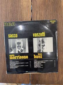 Vinyle vintage Bande Originale du film Sacco e Vanzetti