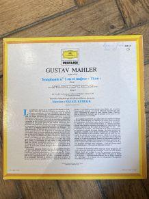 Vinyle vintage Gustav Mahler - Symphonie nº1