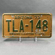 Plaque d'immatriculation USA Arizona
