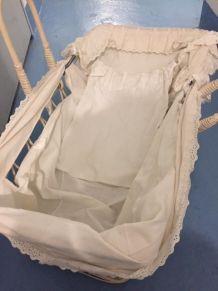 BERCEAU OSIER ENFANT