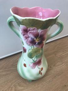 Vase barbotine de St Clément