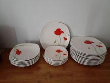 Lot 24 pièces vaisselle