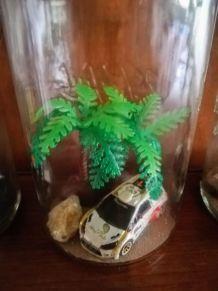 Lampe bocal thème voiture