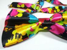 Nœud papillon pop'art neuf