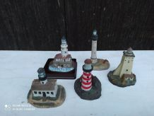 lot de 5 phares miniatures