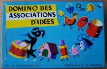 Domino des associations d'idées NATHAN vintage