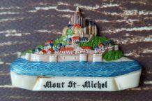 Bijou Broche vintage kitsch années 50 Mont St Michel
