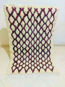 140x95cm Tapis berbere marocain
