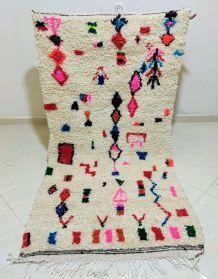 180x100cm Tapis berbere marocain