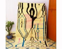 250x156cm Tapis berbere marocain