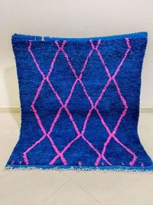 130x113cm tapis berbere marocain