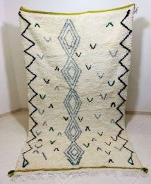 253x160cm Tapis berbere marocain