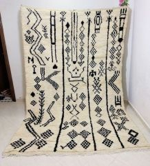 303x198cm Tapis berbere marocain