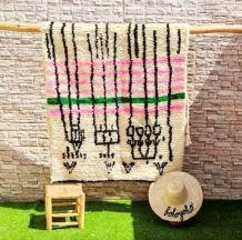 240x124cm tapis berbere marocain