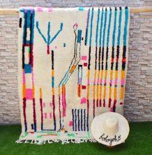 245x140cm tapis berbere marocain