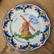 assiette de collection moulin des loups 1880 moulin